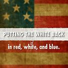 red, white and blue by Alex Preiss