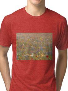 Fabulous Field of Flowers Tri-blend T-Shirt
