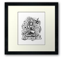 Muse, Take Heed! Framed Print