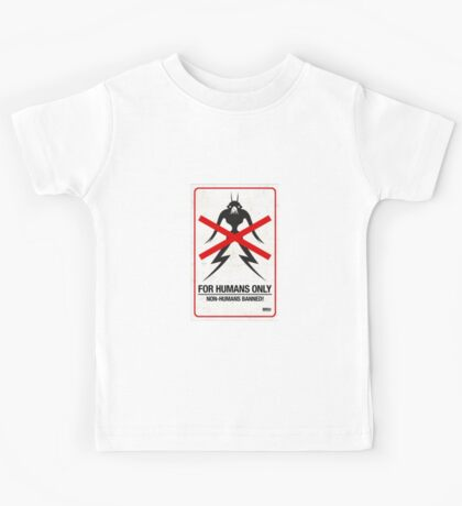 """District 9 """"For Humans Only"""" Kids Tee"""