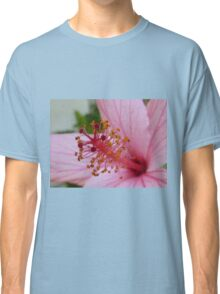 Pink Flower (Extreme Close-Up) Classic T-Shirt
