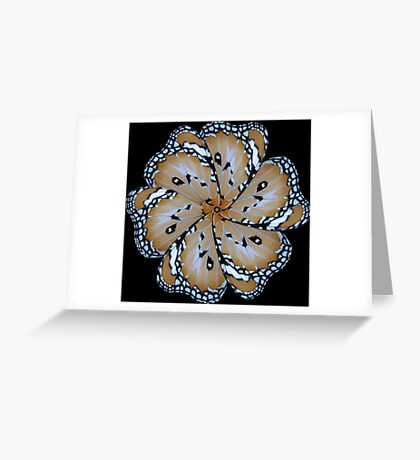 Wing mill - butterfly wings 7 Greeting Card