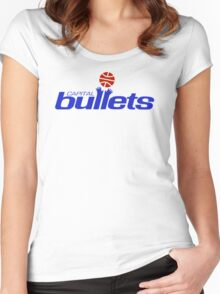DEFUNCT -CAPITAL BULLETS Women's Fitted Scoop T-Shirt
