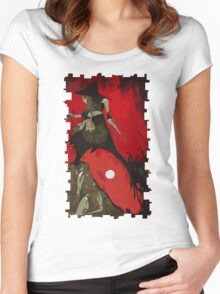 Cole Tarot Card Women's Fitted Scoop T-Shirt