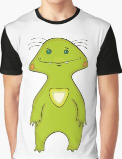 Green Monster Isolated Graphic T-Shirt