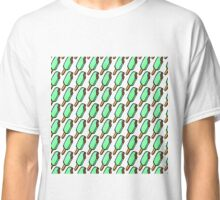 Mint Chocolate Chip Icecream Popsicles Classic T-Shirt