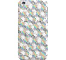 CD DVD Disk Emoji Pattern iPhone Case/Skin