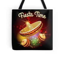 fiesta time theme Tote Bag