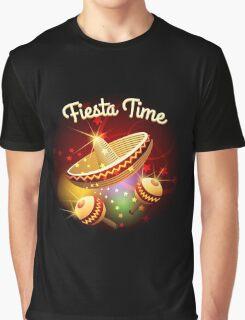 fiesta time theme Graphic T-Shirt