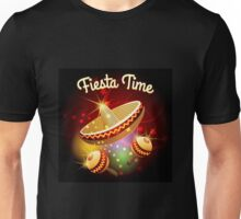 fiesta time theme Unisex T-Shirt
