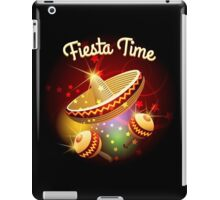 fiesta time theme iPad Case/Skin