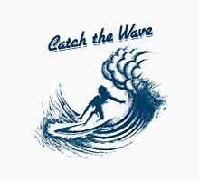 Surfer riding big wave  Unisex T-Shirt