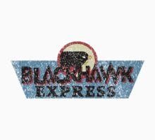 Blackhawk Express - Distressed Shirt One Piece - Short Sleeve