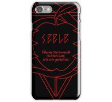 SEELE Rebuild of Evangelion Red Black Logo Graphic iPhone Case/Skin