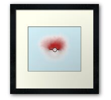 Pokecloud Framed Print