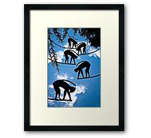 Sky Monkeys Framed Print