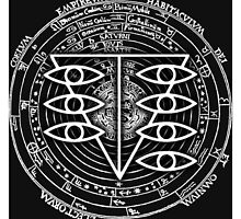 Seele Black Fancy Mandala Evangelion Logo Graphic by regus