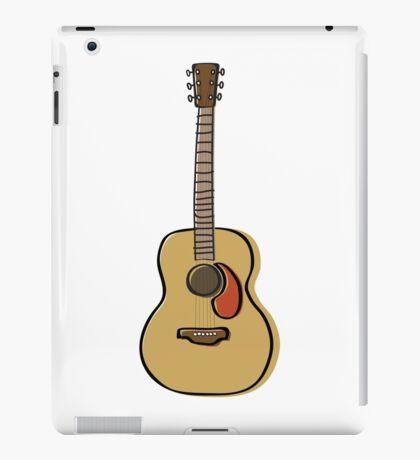 Acoustic guitar iPad Case/Skin
