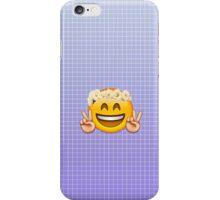 Happy Emoji in Flower Crown iPhone Case/Skin
