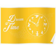 Dream time - Yellow Poster