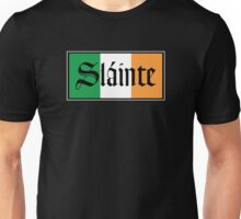 Slainte Irish Flag Unisex T-Shirt