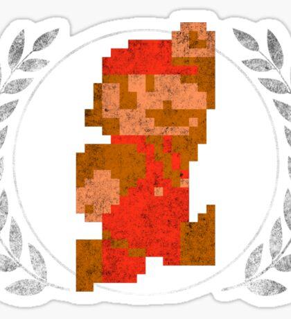 Super Mario - Sprite Badge 2 Sticker