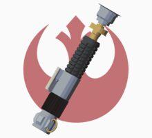 Obi-Wan Kenobi's Lightsaber - Rebel Alliance Kids Clothes