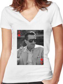 "Casino - Sam ""Ace"" Rothstein Women's Fitted V-Neck T-Shirt"