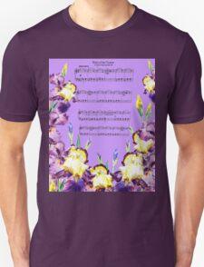 Waltz Of The Flowers Dancing Iris T-Shirt