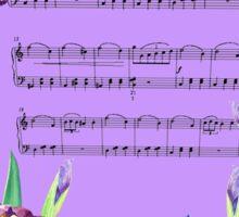 Waltz Of The Flowers Dancing Iris Sticker
