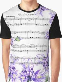 Waltz Of The Flowers Purple Dance Graphic T-Shirt