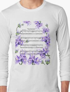 Waltz Of The Flowers Purple Dance Long Sleeve T-Shirt
