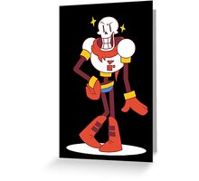 Papyrus - Undertale Greeting Card