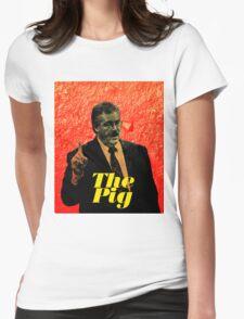 Ken Kratz - The Pig Womens Fitted T-Shirt