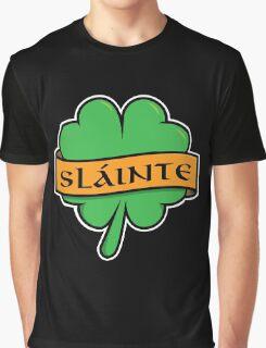 Slainte Shamrock Graphic T-Shirt
