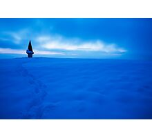 Winter dusk Photographic Print