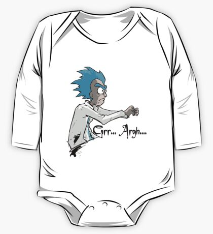 RICK n MORTY One Piece - Long Sleeve