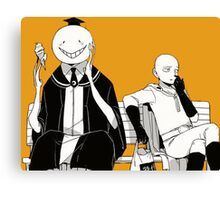 One Punch Assassination  Canvas Print