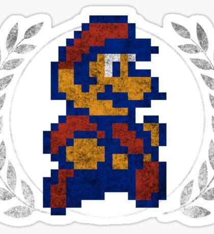 Super Mario - Sprite Badge 3 Sticker