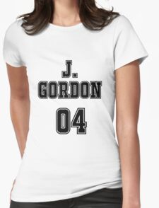 James Gordon Jersey Womens Fitted T-Shirt