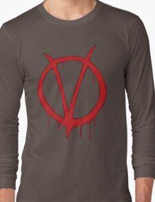 V for Vendetta Tee Long Sleeve T-Shirt