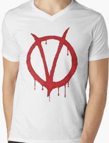 V for Vendetta Tee Mens V-Neck T-Shirt