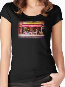 Little Italy Restaurant Women's Fitted Scoop T-Shirt