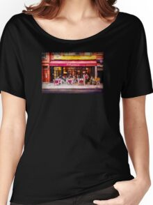 Little Italy Restaurant Women's Relaxed Fit T-Shirt