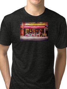 Little Italy Restaurant Tri-blend T-Shirt