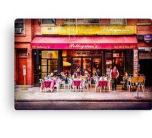 Little Italy Restaurant Canvas Print