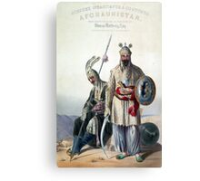 Vintage Dourraunnee Chieftains in Full Armour Canvas Print