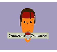 Carrots of the Caribbean Photographic Print