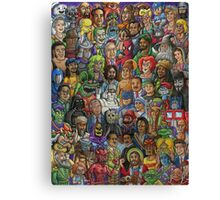 Cool Cartoon Canvas Print