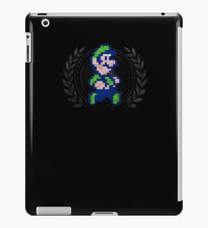 Luigi - Sprite Badge iPad Case/Skin